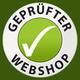 Gepruefter Webshop Siegel Gruen