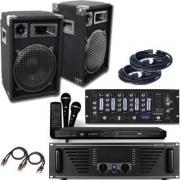 Karaokeanlage 1200 Watt mit Karaokeplayer