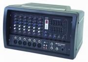 OMNITRONIC CS-406 Combo-Mischpult +Verst. Powermixer / Mischverst�rker