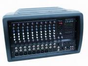 OMNITRONIC CS-816 Combo-Mischpult +Verst. Powermixer / Mischverst�rker