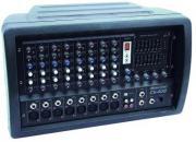OMNITRONIC CS-408 Combo-Mischpult +Verst. Powermixer / Mischverst�rker