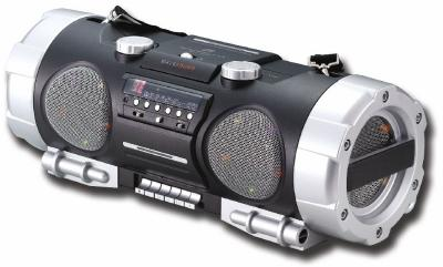 ghettoblaster mit cd mp3 player usb sd radio und kassette sound systems. Black Bedroom Furniture Sets. Home Design Ideas