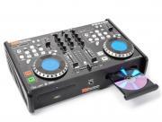 DJ-Set / Doppel CD-Player mit Mischpult und USB / SD / MP3