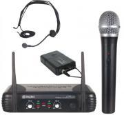 Funkmikrofonanlage STWM722C UHF mit Funkheadset und Krawattenmikrofon