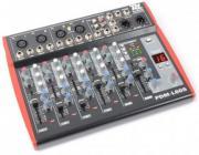 Power Dynamics PDM-L605 6-Kanal Mischpult mit MP3-Player und DSP