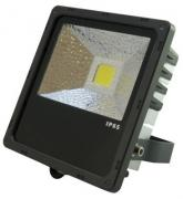 PTL - LED Flood PRO 50W kalt weiß LED-Fassadenscheinwerfer / LED-Gebäudebeleuchtung