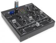 Skytec STM-2250 4-Kanal Mischpult / DJ-Mixer mit USB/MP3