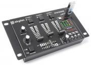 Skytec STM-3020B 6-Kanal Mischpult / DJ-Mixer mit USB/MP3