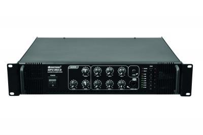 100 Volt ELA-Verstärker mit Zonenschalter OMNITRONIC MPZ-350.6
