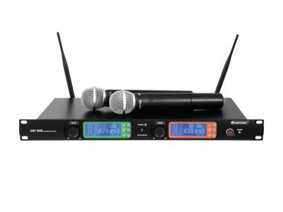 Funkmikrofonanlage UHF-502 mit 2x UHF Funkmikrofon