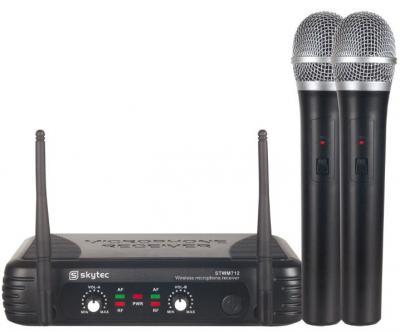 Funkmikrofonanlage STWM712 VHF mit 2x Funkmikrofon