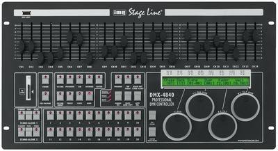 IMG Stage Line DMX-4840 DMX-Controller / DMX-Steuerung