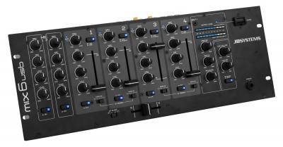 JB Systems MIX 6 USB Mischpult / Mixer