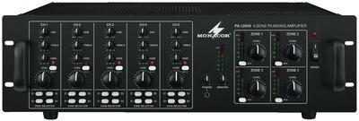 Monacor PA-12040 Mehrkanalverstärker mit Mischpult