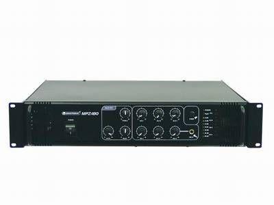 100 Volt ELA Verstärker mit Zonenregelung OMNITRONIC MPZ-180.6