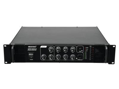 100 Volt ELA Verstärker mit Zonenregelung OMNITRONIC MPZ-500.6