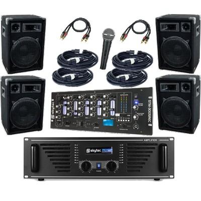 Musikanlage / PA-Anlage 2400