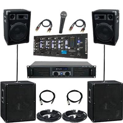 Musikanlage / PA-Anlage 3600
