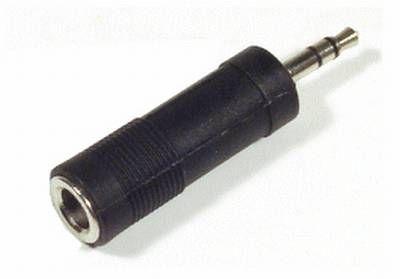 3,5mm Stecker auf 6,3mm Kupplung