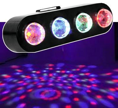 4-fach LED-Lichteffekt / LED-Lichtanlage CPE-4