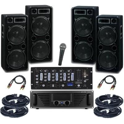 musikanlage pa system 4000 sound systems. Black Bedroom Furniture Sets. Home Design Ideas