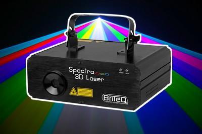 Briteq Spectra-3D Laser / Laseranlage