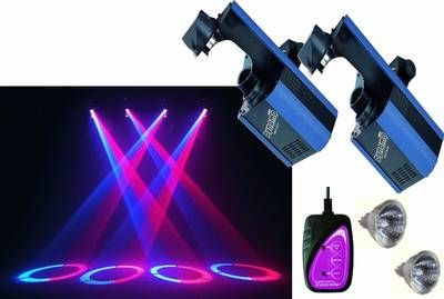 Dynamo 250W Scanner Set