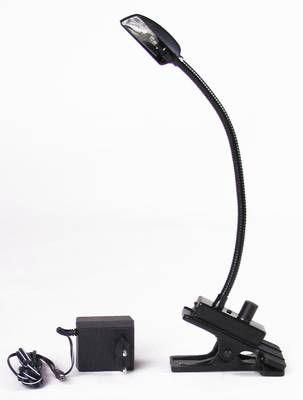 Flexilight Schwanenhalsleuchte / Mischpultleuchte 12V/5W mit Trafo / KLEMME