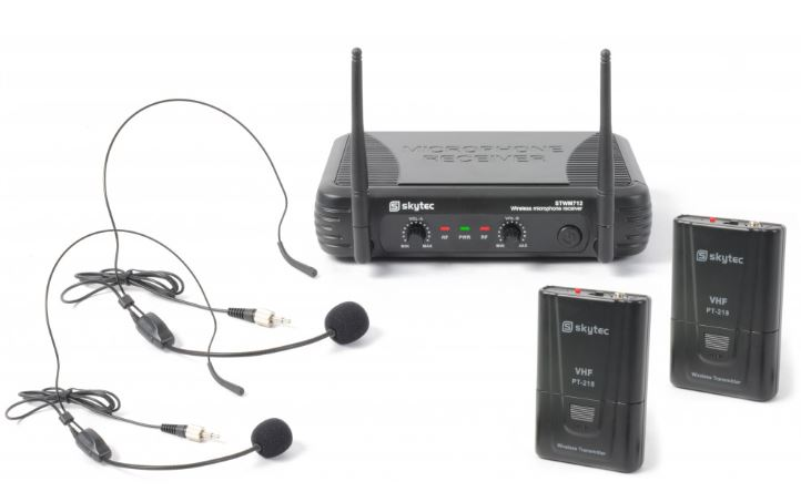 Funkmikrofonanlage STWM712H VHF mit 2x Funkheadset