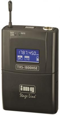 IMG Stage Line TXS-1800HSE Taschensender / Gürtelsender