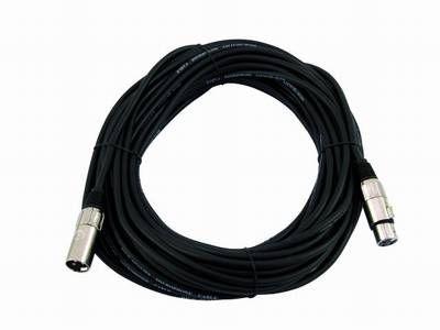 Kabel MC-250, 25m,schwarz,XLR m/f, symmetr.