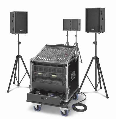 Kompakte Beschallungsanlage / Beschallungssystem PCS-1200