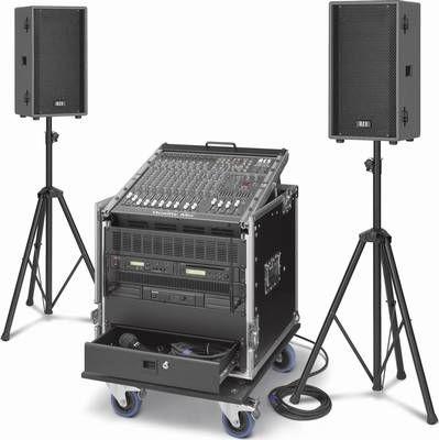 Kompakte Beschallungsanlage / Beschallungssystem PCS-1200L