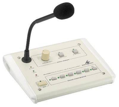 Monacor PA-1120RC 100 Volt ELA-Kommando-Tischmikrofon / Sprechanlage