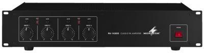 Monacor PA-1450D 4-Kanal-Digital-ELA-Verstärker