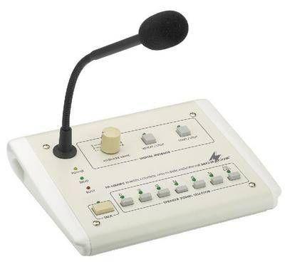Monacor PA-6000RC 100 Volt ELA Kommando-Tischmikrofon / Sprechanlage