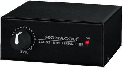 Monacor SLA-35 Pegel- und Impedanzwandler