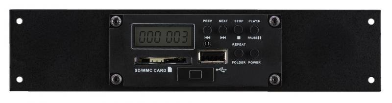 Monacor TXA-1020DMP MP3-Player-Einbaumodul mit USB / SD Slot
