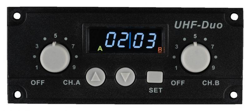 Monacor TXA-1020MR 2-Kanal-Empfängermodul
