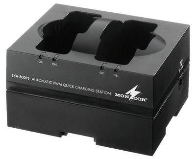 Monacor TXA-800PS Intelligente PWM-Schnell-Ladestation
