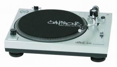 OMNITRONIC BD-1350 Plattenspieler / Turntable