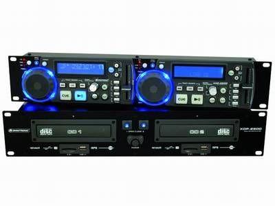 OMNITRONIC XDP-2800 MP3/USB/SD Doppel CD-Player