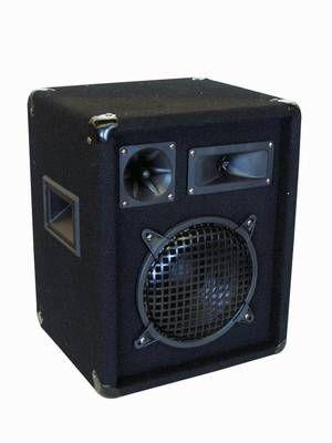 PA-Lautsprecher OMNITRONIC DX822 3-Wege Box, 300 Watt, 94dB