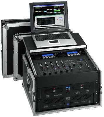 Rack mit PC / Notebook Halterung MR-106PC IMG Stage Line