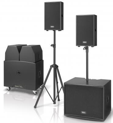 RCS-Audio PSA-1200 Aktivanlage / Aktivsystem