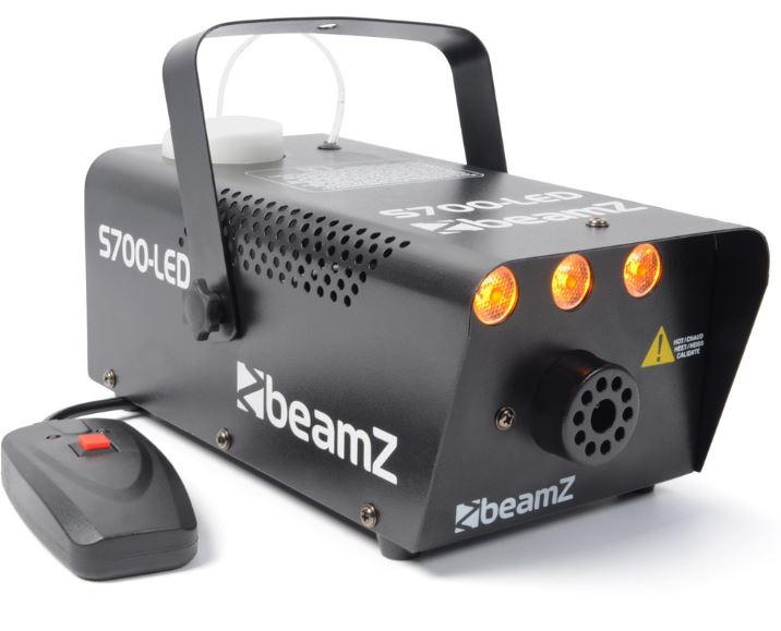LED-Nebelmaschine BeamZ S700-LED mit Flammen-Effekt