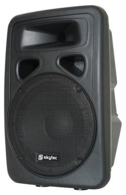 Skytec SP-1200ABT 600 Watt PA-Aktivlautsprecher / PA-Aktivbox mit Bluetooth / MP3 / USB / SD