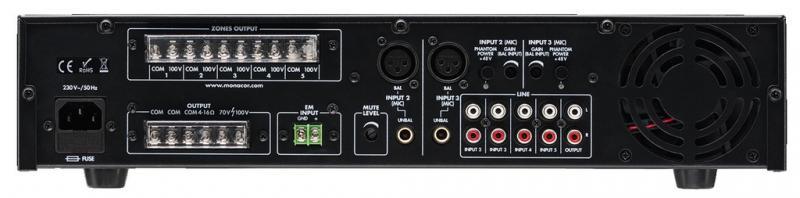 monacor pa 312dmp mit usb anschluss mp3 player sound. Black Bedroom Furniture Sets. Home Design Ideas